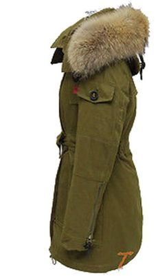 Womens Fur Collar Army Green Jackets Coats Padded Windbreaker Parka Hooded. Size: One Size. Color: Figure Color. Style: Basic JacketMaterial: ful+cotton. Material: ful+cotton. Style: Basic Jacket.