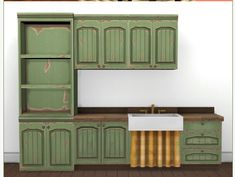The Sims, Sims Cc, Sims 4 Kitchen, Sims 4 House Building, Sims 4 Cc Packs, Sims 4 Cc Furniture, Sims Ideas, Sims Games, Sims 4 Houses