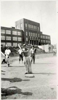Yogi as a barefoot sandlotter in St Louis mid 1930's