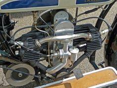 2-cylindrowy, czterosuwowy, bokser, silnik poprzeczny Douglas, o cylindrach…