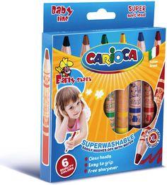 Creioane cerate de la Carioca sunt perfecte pentru mânuțele copilului tău! Sunt ușor de ținut în mână și se ascut cu un minim de efort. Frosted Flakes, Cereal, Breakfast Cereal, Corn Flakes