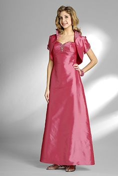 2015 Sweetheart Pink Jacket Ruched Sleeveless Satin Tea Length Mother of the…