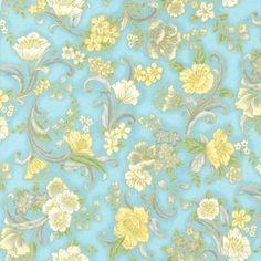 Robert Kaufman Fabrics: SRKM-15839-200 VINTAGE from Grand Majolica