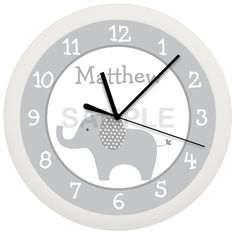 Hey, I found this really awesome Etsy listing at https://www.etsy.com/listing/227954739/gray-and-white-mod-elephant-nursery-wall