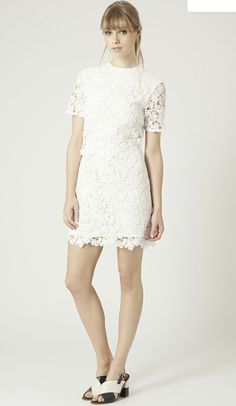 In love with white dresses @topshop