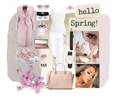 """""""spring is in the air"""" by majacepova ❤ liked on Polyvore featuring Boohoo, MICHAEL Michael Kors, Sans Souci, adidas Originals, Jimmy Choo, Christian Dior, Ardell, Urban Decay, Daniel Wellington and Alexander McQueen"""