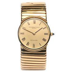Bulgari Audemars Piguet Yellow Gold Tubogas Wristwatch 1