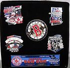 SET OF 6 COLLECTIBLE 2004 LIMITED EDITION BOSTON RED SOX PINS 337/500 BASEBALL - 2004, 337/500, Baseball, BOSTON, Collectible, Edition, Limited, PINS