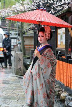 Japanese Maiko@Shiragawa