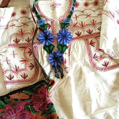 At Las Niñas Textiles, you can mix and match our embroidered blouses, Huichol jewellery, and vintage huipil bags to create your own perfect ensemble. http://www.lasninastextiles.com/gorgeous-hand-crafted-natural-fiber-fashion-ensemble/
