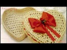 Crochet Box, Crochet Motif, Crochet Lace, Crochet Patterns, Crochet Home Decor, Knitting Videos, Lace Flowers, Doilies, Basket