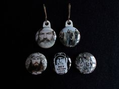 Duck Dynasty Zipper pulls For coat backpack by GrandmasBowsonETSY, $7.00