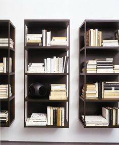 Sectional #bookcase WALLBOX by EmmeBi