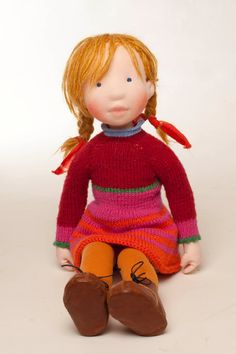 Chrissy Handmade cloth doll partial payment von AldegondeCeelen