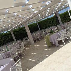 Garden glamour.... Zona aperitivo totale white!!!
