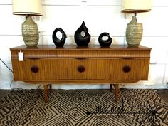 English modern credenza. Available at Mid Mod Collective. Email midmodcollective@gmail.com for info. SOLD!
