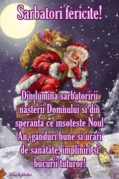 Christmas Greetings, Merry Christmas, Diy And Crafts, Projects To Try, Happy Birthday, Santa, Holidays, December, Animation