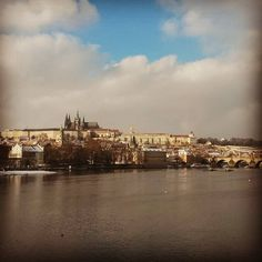 Prague is covered in snow again and the temperaure is going down! Do not forget warm clothes!:) #Prague #Praha #Prag #czechrepublic #view #sky #river #architecture #travel #travellovers #traveling #czechparadise by czechpragueout
