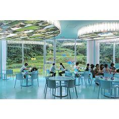 カフェ・ルフレ / ジャン=リュック・ヴィルムート #cafe#jeanlucvilmouth#カフェルフレ#ジャンリュックヴィルムート 『 大地の芸術祭2015|越後妻有トリエンナーレ 』 2015.7.26(sun) - 2015.9.13(sun) - 越後妻有地域[新潟県十日町市・津南町]760㎢ #architect#architecture#art#arttriennale#arttriennale2015#design#echigotsumari#exhibition#MVRDV#triennale#triennale2015#越後妻有#芸術祭#大地の芸術祭#トリエンナーレ#農舞台#新潟#まつだい雪国農耕文化村センター