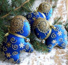 Новый год 2015 Елочная игрушка – НОВОГОДНИЙ БАРАШЕК. Handmade.