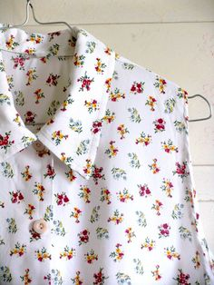 Subtle Shirt. Retro Shirt 80s. Thank Shirt. Floral by artwardrobe, $15.00