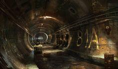 Gears of War Concept Art by John Wallin Liberto