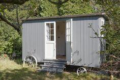 Shepherd's Hut in the Garden