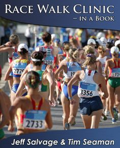 America's premier team of clinicians Jeff Salvage and Tim Seaman's Race Walk Clinic — in a Book beautifully illustrates textbook techniques while it catalogs typical mistakes race walkers make that can rob them of a legal race and speed.