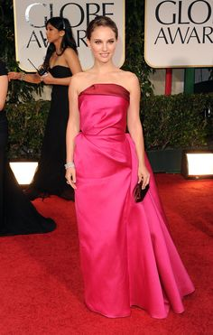 Who: Natalie Portman What: Lanvin When: 2012 Why: Natalie + Alber forever. Natalie + pink forever.    - MarieClaire.com