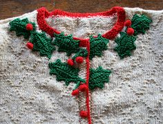 Ravelry: Holly Cardigan pattern by Anna Wilkinson