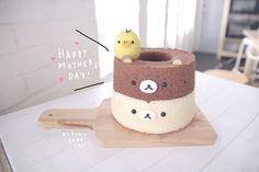 Cute Bento, Egg Cake, Bento Recipes, Cute Desserts, Chiffon Cake, Eat To Live, Sponge Cake, Cute Food, Cake Art