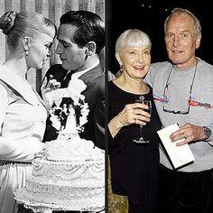 Paul Newman & Joanne Woodward were married 50 years. @Kathleen Heiser via Brenda Fenn