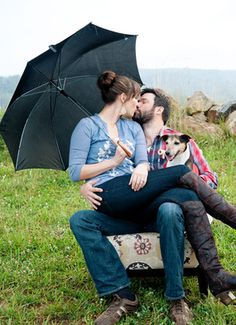 Sweet and simple, mountain view, rainy day session // Blue Frame Photography