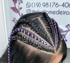 Little Girl Hairstyles, Floral Hair, Box Braids, Curly Hair Styles, Hair Cuts, Nails, Lace, Festival Hairstyles, Animal Plates