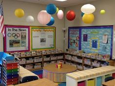 A bunch of beautiful and inspirational classroom libraries!