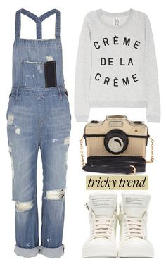 """""""Overalls"""" by helenevlacho ❤ liked on Polyvore featuring sass & bide, Zoe Karssen, Marc by Marc Jacobs, Accessorize, TrickyTrend, jeans, overalls and minimalism"""
