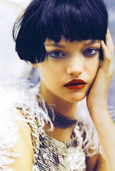 gemma ward photographed by patrick demarchelier for vogue india oct. 2007