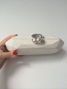 Chanel Hard White Clutch. Get the trendiest Clutch of the season! The Chanel Hard White Clutch is a top 10 member favorite on Tradesy. Save on yours before they are sold out!