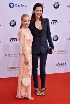 Pin for Later: Seht alle Stars auf dem roten Teppich beim Deutschen Filmpreis Janin Reinhardt und Eva Padberg