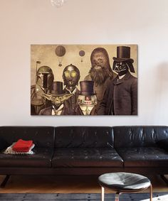 Look what I found on #zulily! Terry Fan Victorian Wars #2 Gallery-Wrapped Canvas by Star Wars #zulilyfinds