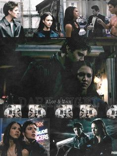 Dark Angel - Alec and Max - I totally shipped these two even though they fought like siblings