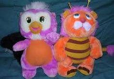 80's Toys wuzzles -- um...I had the hippo.