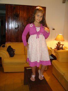 lindo vestido hecho por mami