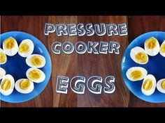 CRACKED! Soft, Medium, and Hard Boiled Eggs in the pressure cooker • hip pressure cooking