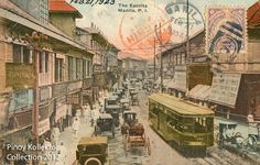 Pinoy Kollektor: 78. Philippine TRAMVIAS (Street Cable Cars) in Postcards. Pinoy's first modern transportation