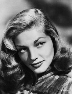 To Have and Have Not (1945)  Publicity glamour head shot of Lauren Bacall in 1944 when she was making TO HAVE AND HAVE NOT for Warner Bros.
