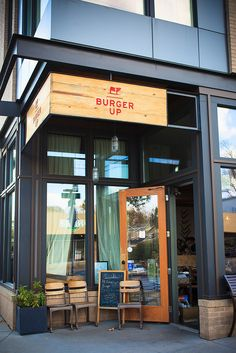 Burger Up - Nashville TN. Sweet potato fries, local ingredients, cool atmosphere, outdoor patio...I crave their burgers! 12 South.