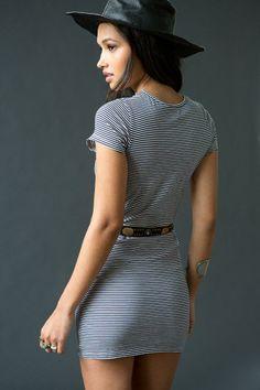 byCORPUS Stripe Tee Dress #urbanoutfitters