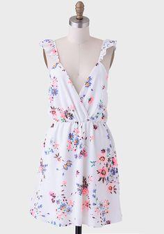 Dream Come True Ruffled Dress at #Ruche @Mimi B. B. ♥♥