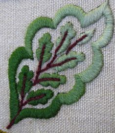 Love the open Embroidery